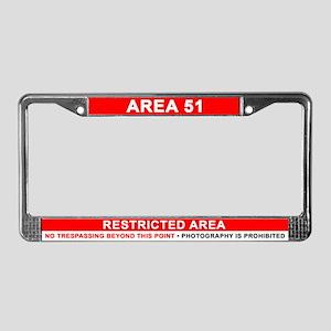 Area 51 Dreamland License Plate Frame