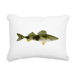 Sauger v2 Rectangular Canvas Pillow