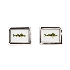 Sauger v2 Rectangular Cufflinks