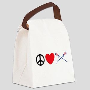 lacross13 Canvas Lunch Bag