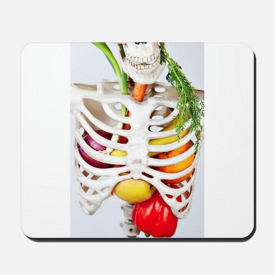 Skinny Eats Healthy Foods Mousepad