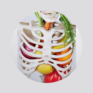Skinny Eats Healthy Foods Ornament (Round)
