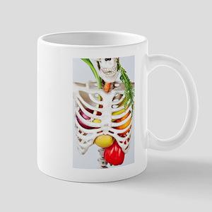 Skinny Eats Healthy Foods Mugs