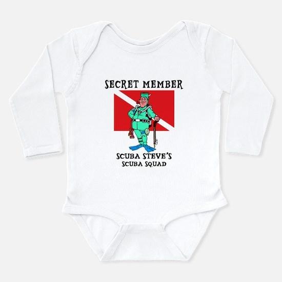 SCUBA Steve Infant Creeper Body Suit