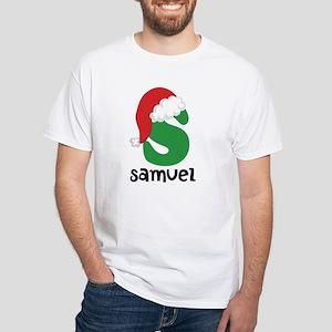 Christmas Santa Hat S Monogram T-Shirt