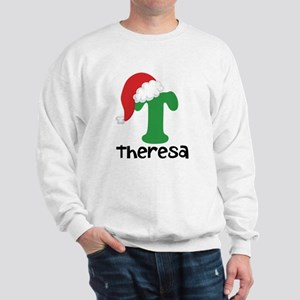 Christmas Santa Hat T Monogram Sweatshirt