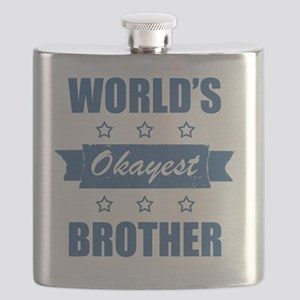 World's Okayest Brother Flask