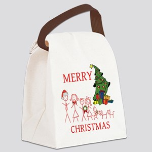 OYOOS Merry Christmas Family design Canvas Lunch B
