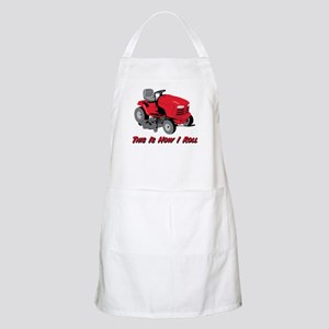 This Is How I Roll Mower BBQ Apron