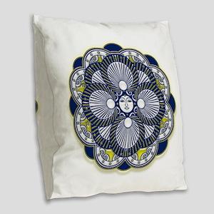 Mystik Burlap Throw Pillow