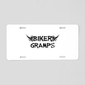 Biker Gramps Aluminum License Plate
