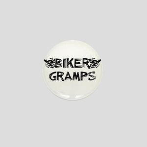 Biker Gramps Mini Button