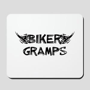 Biker Gramps Mousepad