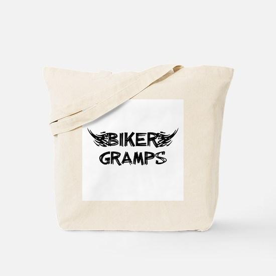 Biker Gramps Tote Bag