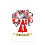 Hensmans Sticker (Rectangle 50 pk)