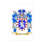Hensley Sticker (Rectangle 50 pk)