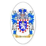 Hensley Sticker (Oval)