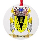 Hensing Round Ornament