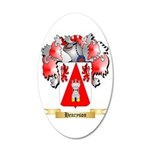 Henryson 20x12 Oval Wall Decal