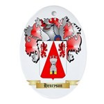 Henryson Ornament (Oval)