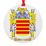 Henriquez Round Ornament