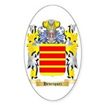Henriquez Sticker (Oval 10 pk)