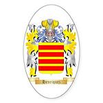 Henriquez Sticker (Oval 50 pk)