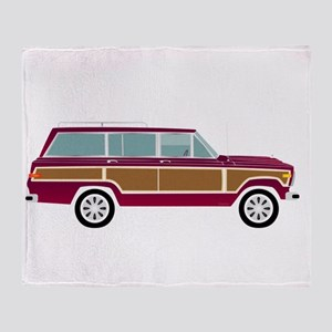 Weekend Wagon Throw Blanket