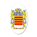Henriquez 20x12 Oval Wall Decal