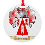 Henriquet Round Ornament