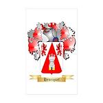 Henriquet Sticker (Rectangle 10 pk)