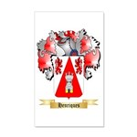 Henriques 20x12 Wall Decal