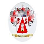 Henriksson Ornament (Oval)