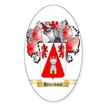 Henriksen Sticker (Oval 10 pk)