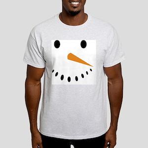 Snowman's Face T-Shirt