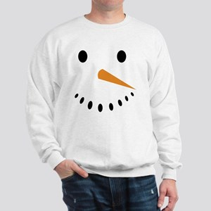Snowman's Face Sweatshirt