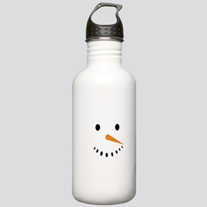 Snowman's Face Stainless Water Bottle 1.0L
