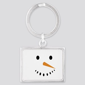 Snowman's Face Keychains