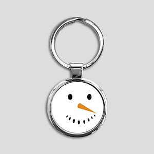 Snowman's Face Keychains