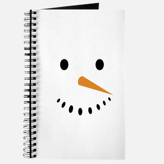 Snowman's Face Journal