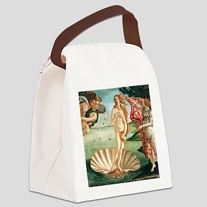 Birth of Venus by Botichelli Canvas Lunch Bag