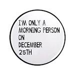 Christmas Morning Person 3.5
