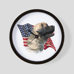 Mastiff(flf) Flag Wall Clock