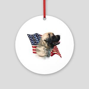 Mastiff(flf) Flag Ornament (Round)