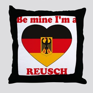 Reusch, Valentine's Day Throw Pillow