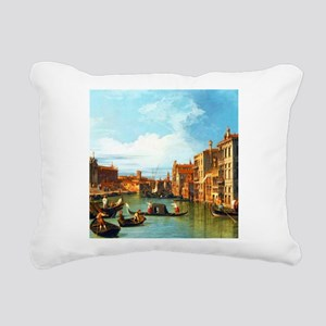 Grand Canal in Venice by Canaletto Rectangular Can