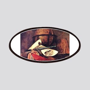 Travel Globe painting by Chardin Patches