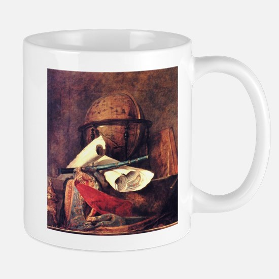 Travel Globe painting by Chardin Mugs