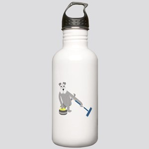 Schnauzer Curling Stainless Water Bottle 1.0L