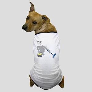 Schnauzer Curling Dog T-Shirt